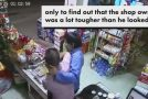 Shopkeeper Beats the Crap Out of Armed Robber