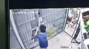 Prisoner Tricks Officer With Simple Ruse So He Can Escape