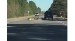 Car, Motorcycle and Tow Strap Fail