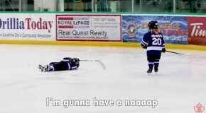 Dad Mics Up His Four Year Old For Hockey Practice