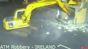 Man Uses Excavator to Steal ATM