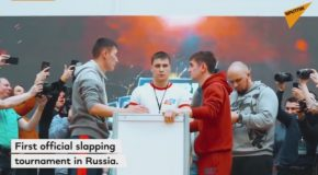 Russia's First Slapping Competition