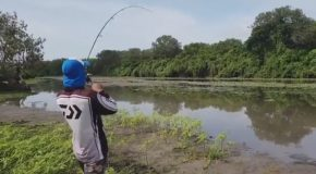 This Guy Catches More Than He Bargained For