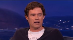 Bill Hader Nails His Arnold Schwarzeneggar Impersonation