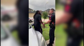 Cop Tries to Arrest the Wrong Guy With Dreds