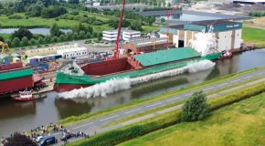 Arklow Abbey Spectacular Big Ship Launch