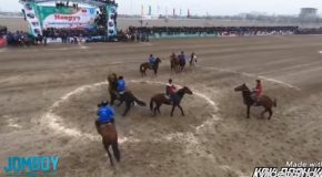 Buzkashi : The Afghan Sport Where The Ball Is Literally A Dead Goat