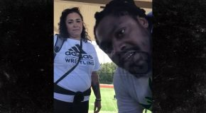 Marshawn Lynch In Confrontation with Football Mom