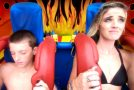 Sling Shot Ride Ends With Young Kid In Serious Groin Pain