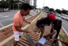 Thief Is Chased Down In Sao Paulo – Brazil