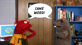 Glove and Boots – No Script Day – The Word Game