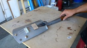 Turning an Old Rusted Shovel Into a Functioning Guitar