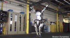 Here's a Robot Doing Parkour