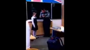 The Kid Had Enough of The Abusive Teacher