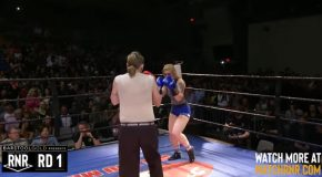 Wrestling Champ Gets Owned By Toothless Hillbilly