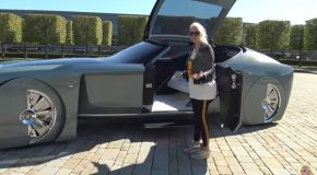 The Uber Futuristic Rolls Royce From The Future