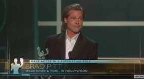 'Once Upon A Time In Hollywood' Speech By Brad Pitt Turned Hilarious