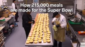 How The Super Bowl's Kitchen Works!