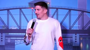Andrew Schulz's Jokes On Paralyzed Guy And His Service Dog!