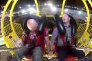 Two Guys Take On The Slingshot Ride, It Didn't End Well