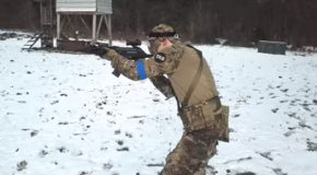 SWAT Officer Absolutely Destroys Everyone At An Airsoft Match!