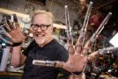 Adam Savage Makes Himself Some Mechanical Claws!