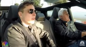 Jay Leno Shares A Ride On The Cybertruck With Elon Musk