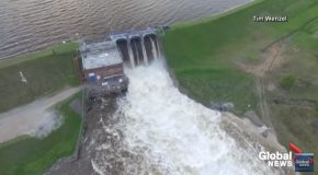 Broken Michigan Dam Causes Flooding Of Towns