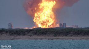 Spacex Starship Prototype Explodes With A Huge Bang!