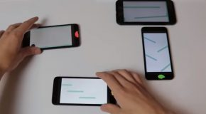 Crazy Juggling With Synchronized Phones!