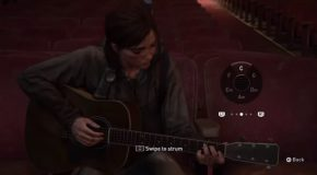 Playing Johnny Cash's Hurt In The Last Of Us 2 Game!