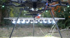 Putting A 1000W LED On A Drone!