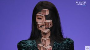 The illusion Artist That Uses Her Face As A Canvas!