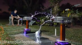 Toto's Africa Being Played On Tesla Coils!