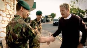 Chef Gordon Ramsay Trains And Cooks With The Royal Marines!