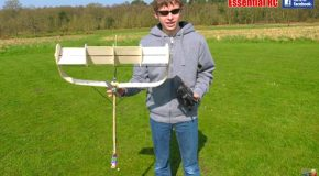 Testing Out The Awesome Magnus Effect RC Plane!