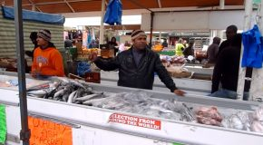 The £1 Fish Seller Who Sings!