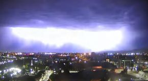 Lightning Storm In San Francisco Bay Area Has Some Good Light Show!