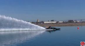 Here's What 10,000 Horsepower Engines On Small Boats Can Do!