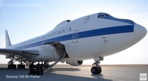 Looking At The Military's $223 Million Doomsday Plane!