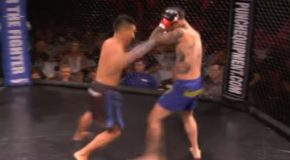 Tattooed Boxer Tries To Bully Other Boxer, Gets Knocked Out Within 20 Seconds!