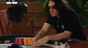 These Poker Players Egg Each Other On To Put It All In!