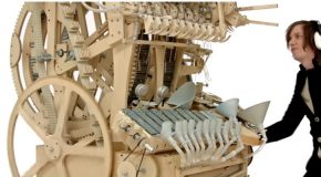 The Wintergatan, The Beautiful Marble Machine!