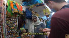 White Guy Learns African Language And Stuns Everyone In The African Market!