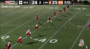 Game Gets Saved By Kicker At The Last Moment!