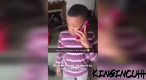 Kid Accidentally Ends Up Breaking Glass Window, Gets Scared Of The Consequences!