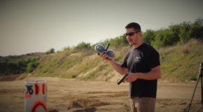 Shooting A Fully Automatic Glock 17 With A 100rd Round Drum Magazine!