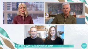 Dog Faked A Limp When Owner Broke His Ankle!