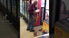 Grandpa Has A Huge Temper Tantrum!