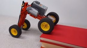 Guy Makes An Almost Perfect LEGO Car That Climbs Obstacles!